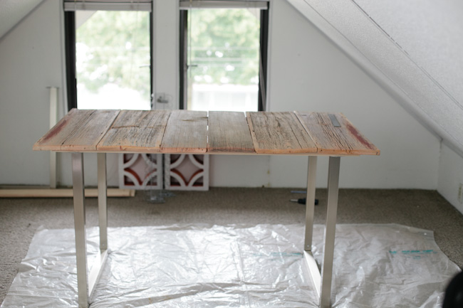 build wood desk
